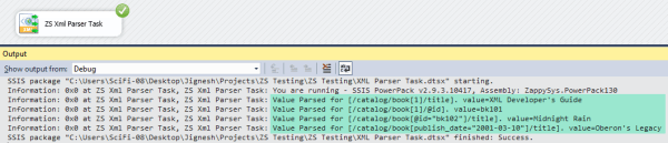 SSIS XML Parser Task (FREE) - XPath Extract - Visual ...