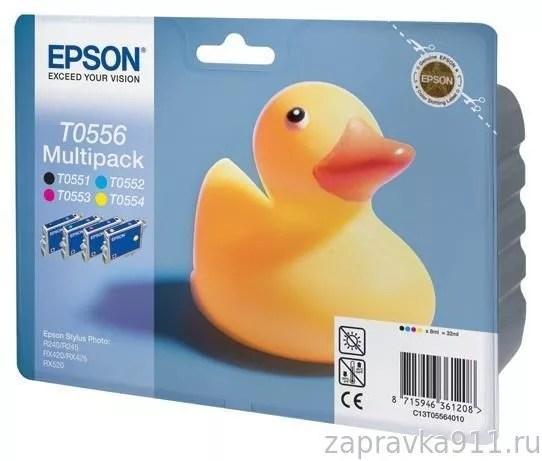 Заправка картриджа Epson T05564010