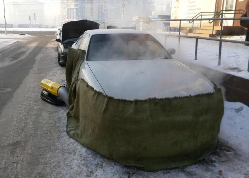 Бизнес идеи: отогрев автомобилей зимой. Бизнес на отогреве автомобилей зимой Зарождение бизнес идеи