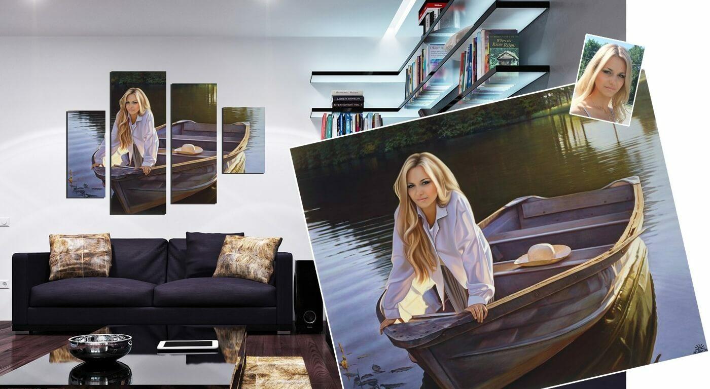 Peintures sur commande à partir de photos