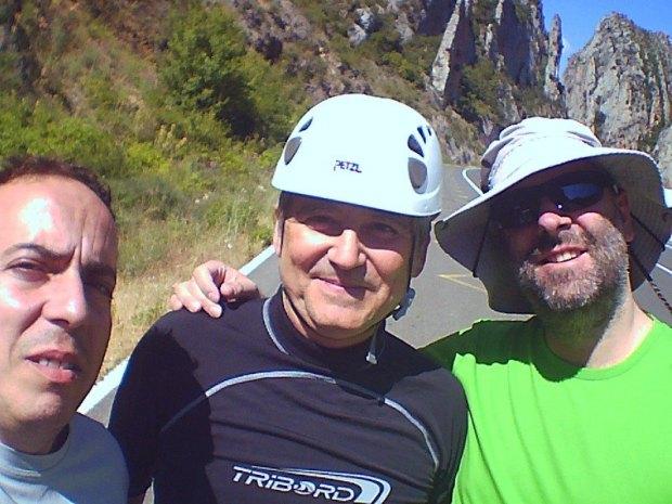 Mario, Miguel y Sergio