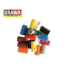 Clavijas aereas hembra, Blanco, bolsa 10 unid. Marca Brawa, Ref: 3049.
