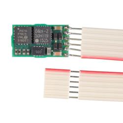 Decodificador de Funciones FH05B-1, SX1, SX2, DCC y MM, con NEM 651, muy fino.