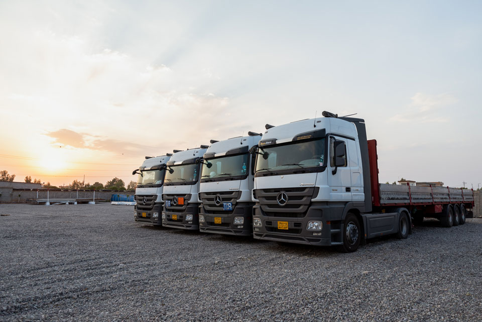 Trucking Services Erbil