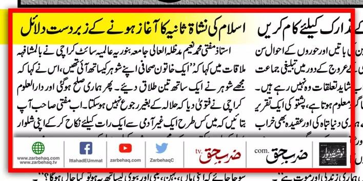 maulana-yousuf-ludhianvi-mufti-naeem-talaq-halala-haji-usman-pakistan-flag-k-electric-islamic-revolution-islam-ajnabi-tha-khatoon-ki-faryad-fatwa