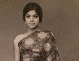 Indian Woman Vintage Photo