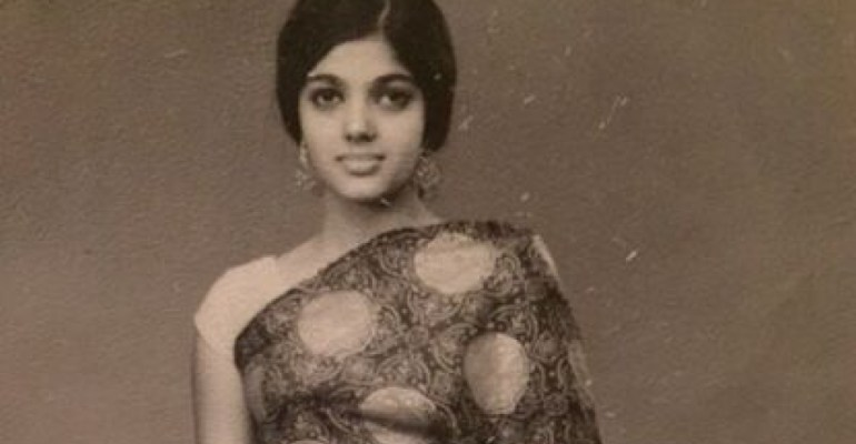 Indian Woman Vintage Photo