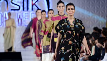 Kimonos at PFDC Sunsilk Fashion Week 2017