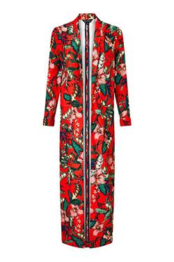Miss Selfridge Printed Maxi Kimono