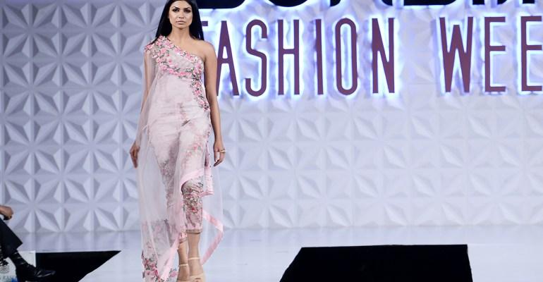 Powder Pink at PFDC Sunsilk Fashion Week 2017