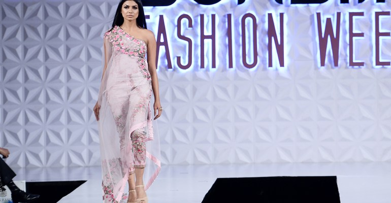Powder Pink at PFDC Sunsilk Fashion Week 2017
