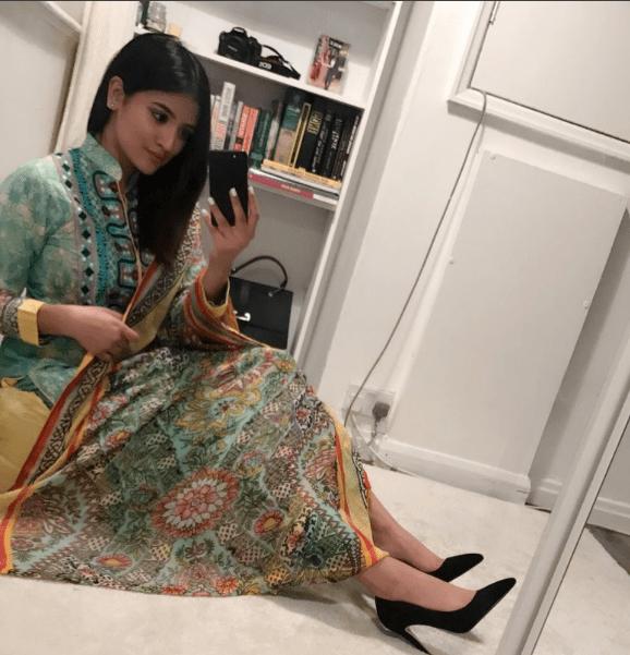 Resham Khan dressed up for Eid