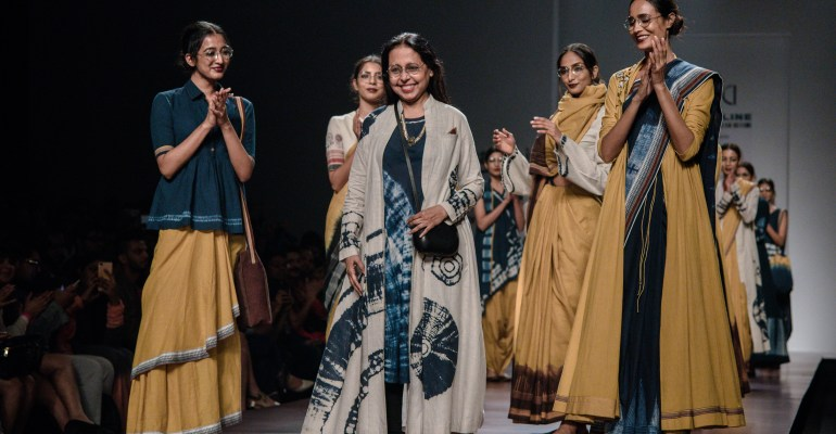 Anju Modi X Boroline FDCI Amazon India Fashion Week Spring Summer 2018 Featured