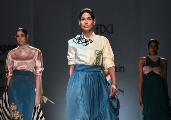 Archana Rao FDCI Amazon India Fashion Week Spring Summer 2018 Finale