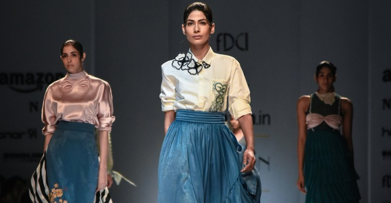 Archana Rao FDCI Amazon India Fashion Week Spring Summer 2018 Finale