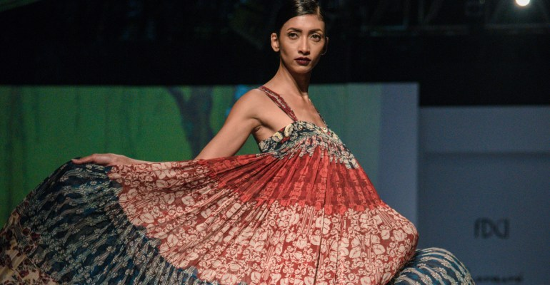 Bhanuni by Jyoti FDCI Amazon India Fashion Week Spring Summer 2018 Finale