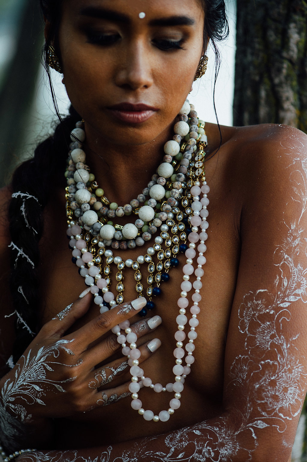 White Henna Editorial Photography by Tara Noelle Look 14