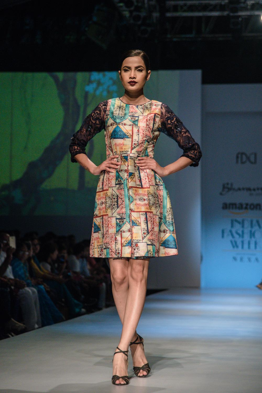 Bhanuni by Jyoti FDCI Amazon India Fashion Week Spring Summer 2018 Look 10