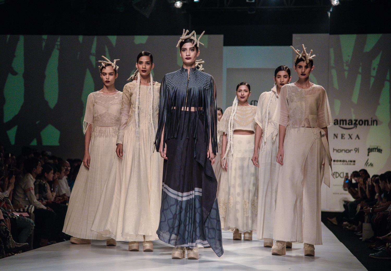 Ekru by Ektaa FDCI Amazon India Fashion Week Spring Summer 2018 Finale