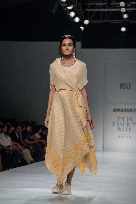 Kavita Bhartiya FDCI Amazon India Fashion Week Spring Summer 2018 Look 12