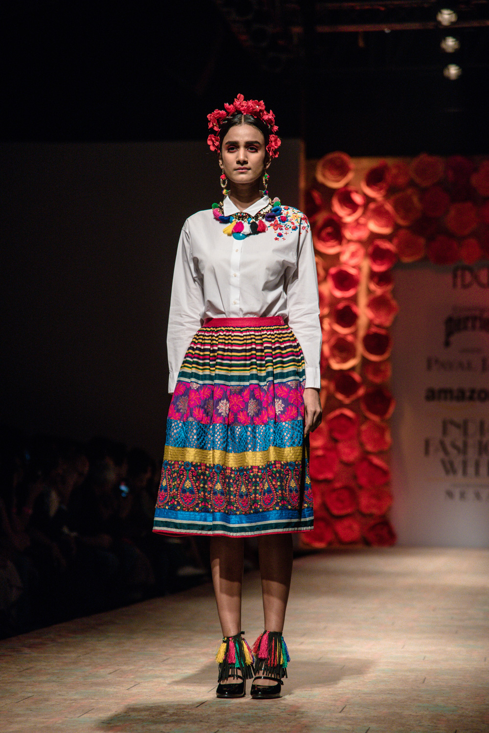 Payal Jain FDCI Amazon India Fashion Week Spring Summer 2018 Look 1