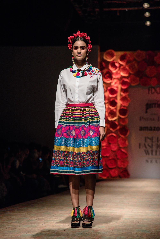 Payal Jain FDCI Amazon India Fashion Week Spring Summer 2018 Look 1