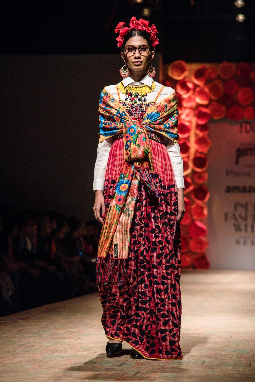 Payal Jain FDCI Amazon India Fashion Week Spring Summer 2018 Look 6