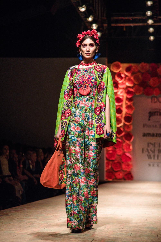 Payal Jain FDCI Amazon India Fashion Week Spring Summer 2018 Look 9