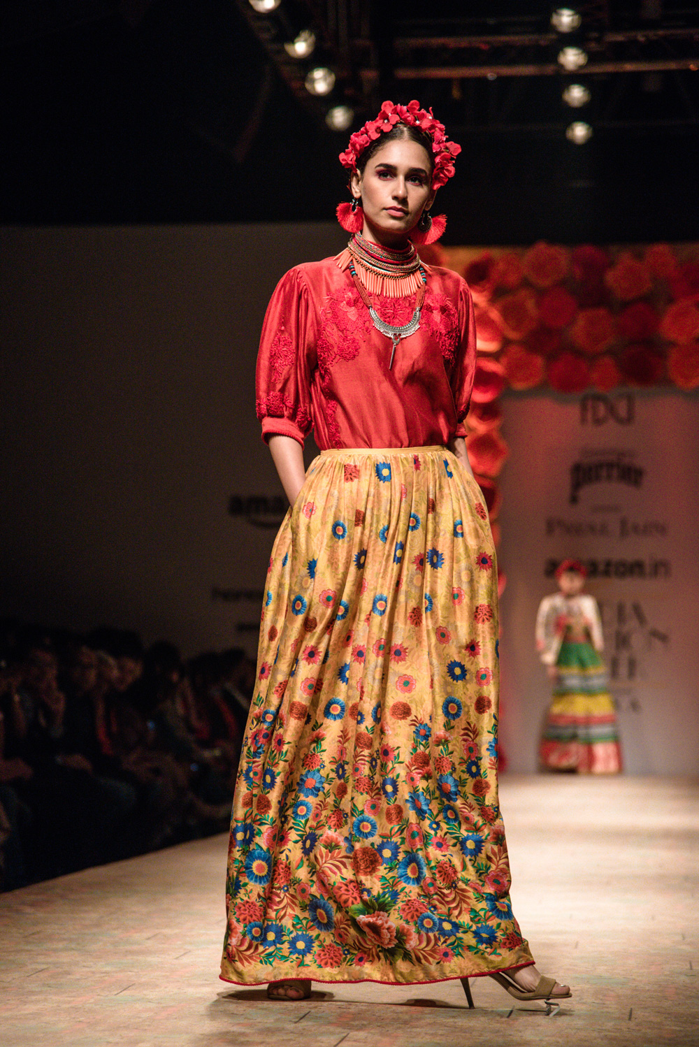Payal Jain FDCI Amazon India Fashion Week Spring Summer 2018 Look 10