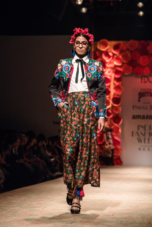 Payal Jain FDCI Amazon India Fashion Week Spring Summer 2018 Look 18