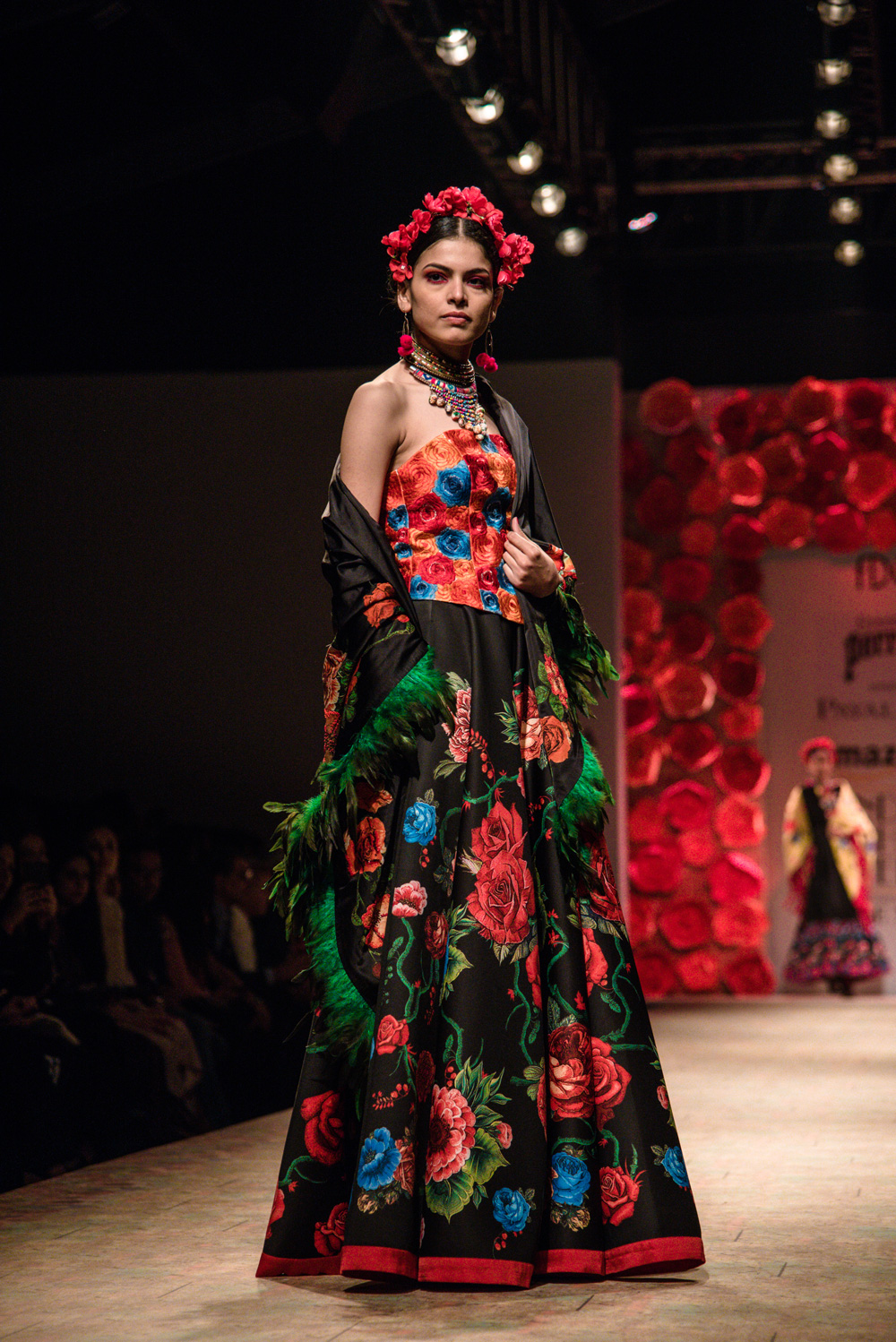 Payal Jain FDCI Amazon India Fashion Week Spring Summer 2018 Look 22