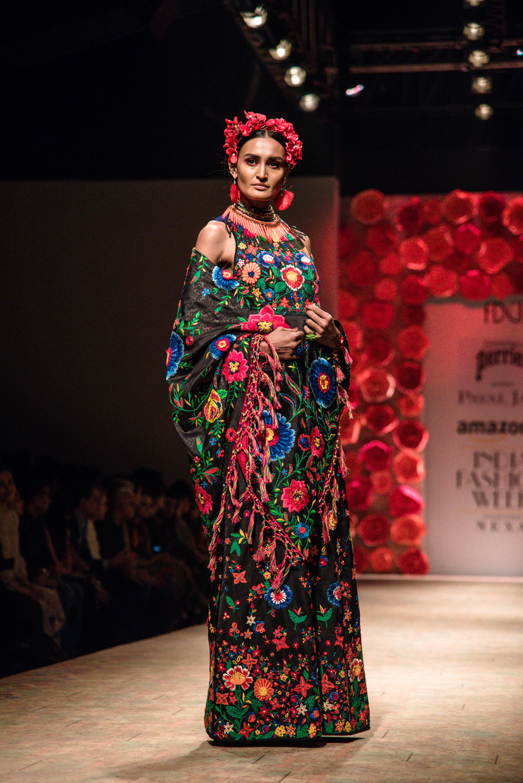Payal Jain FDCI Amazon India Fashion Week Spring Summer 2018 Look 24
