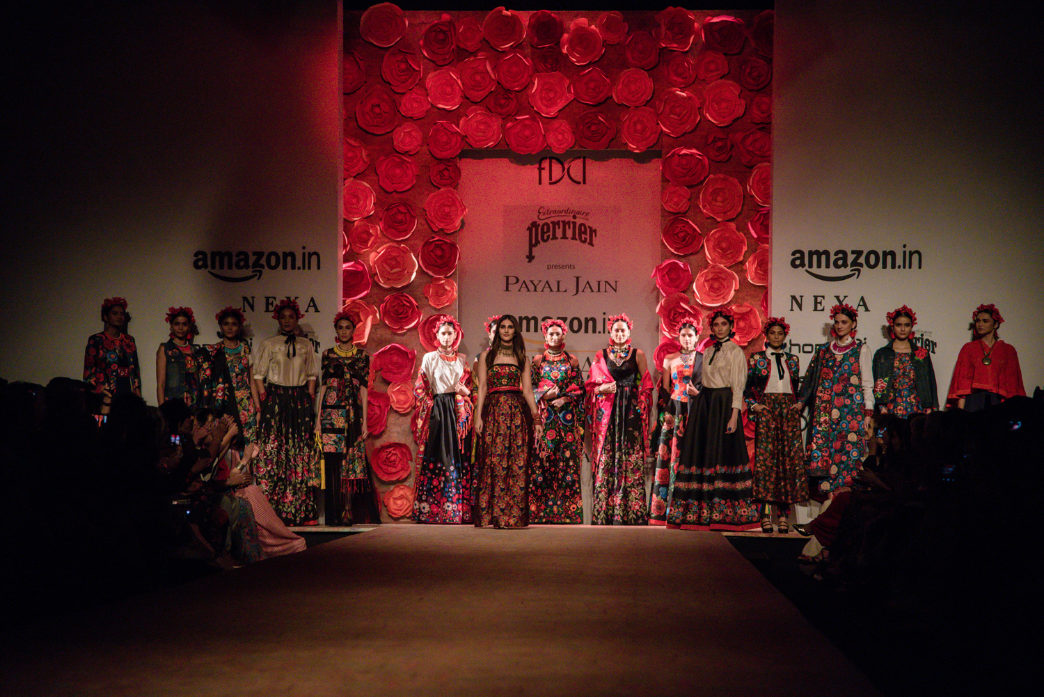 Payal Jain FDCI Amazon India Fashion Week Spring Summer 2018 Finale