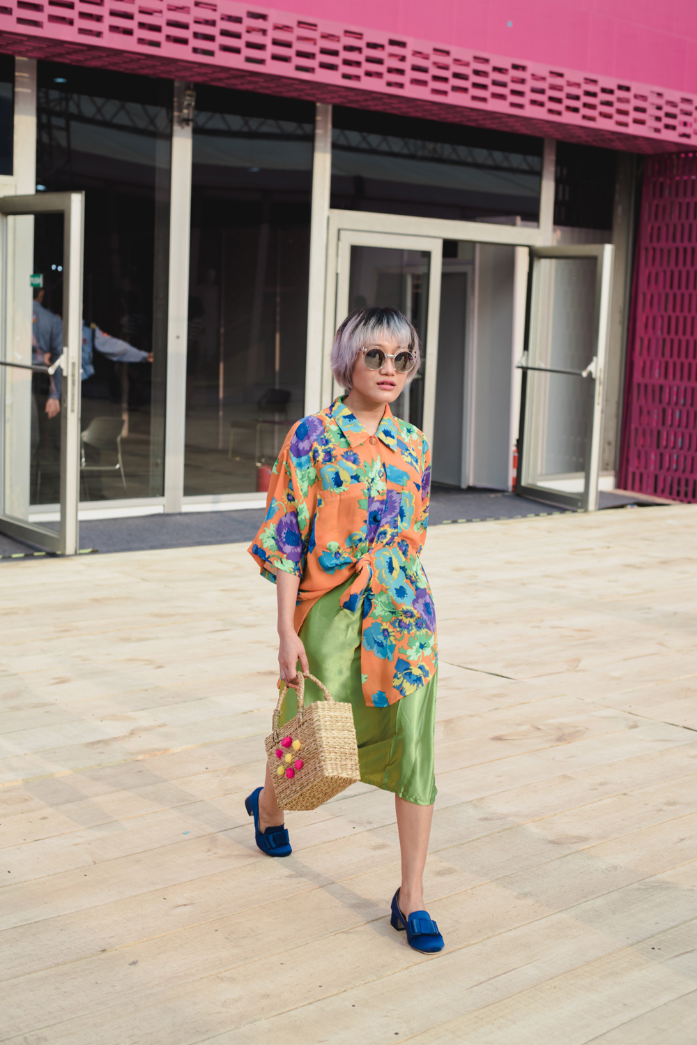 Blogger Aien Jamir Street Style Amazon India Fashion Week Spring Summer 2018; Photo by The Co Lab