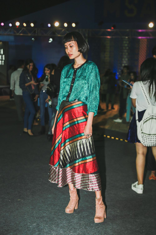 Fashion Model Carol   Street Style Amazon India Fashion Week Spring Summer 2018; Photo by The Co Lab