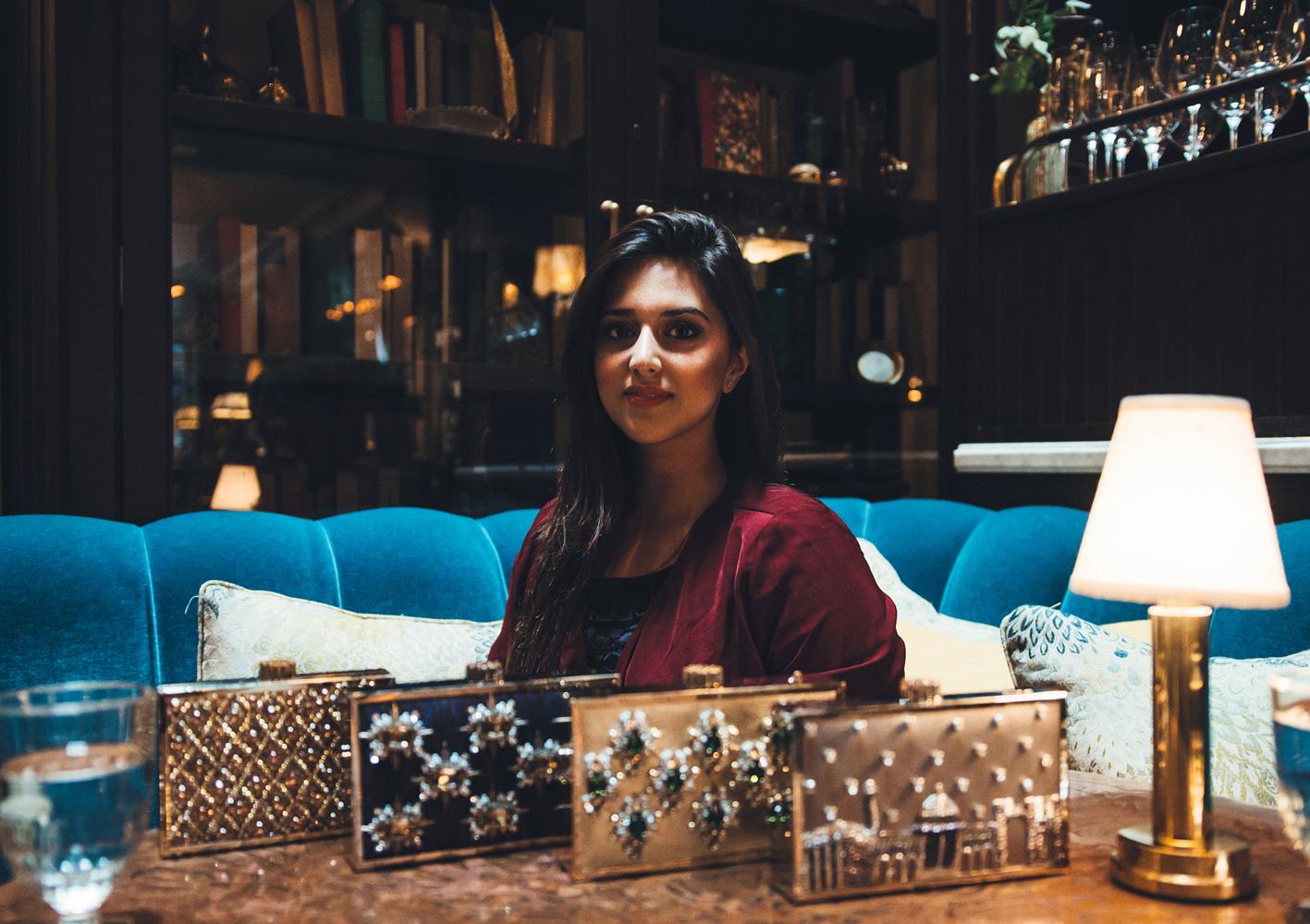Minza Khan's Clutch Collection