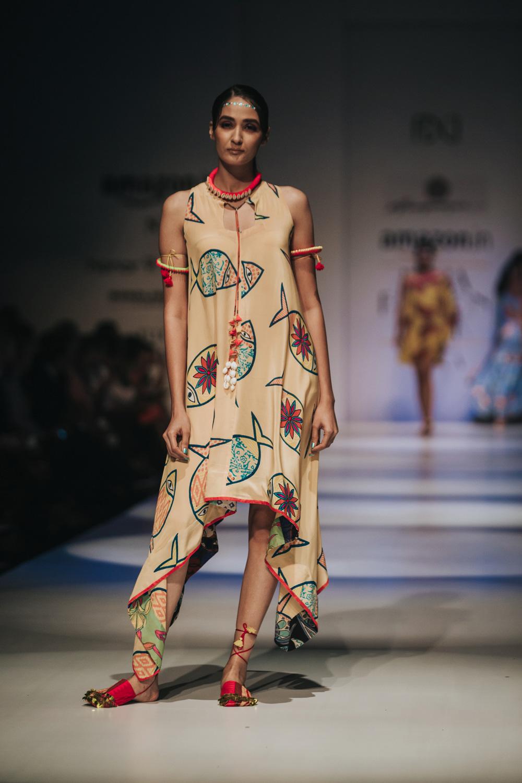 Anupamaa by Anupama Dayal FDCI Amazon India Fashion Week Spring Summer 2018 Look 12