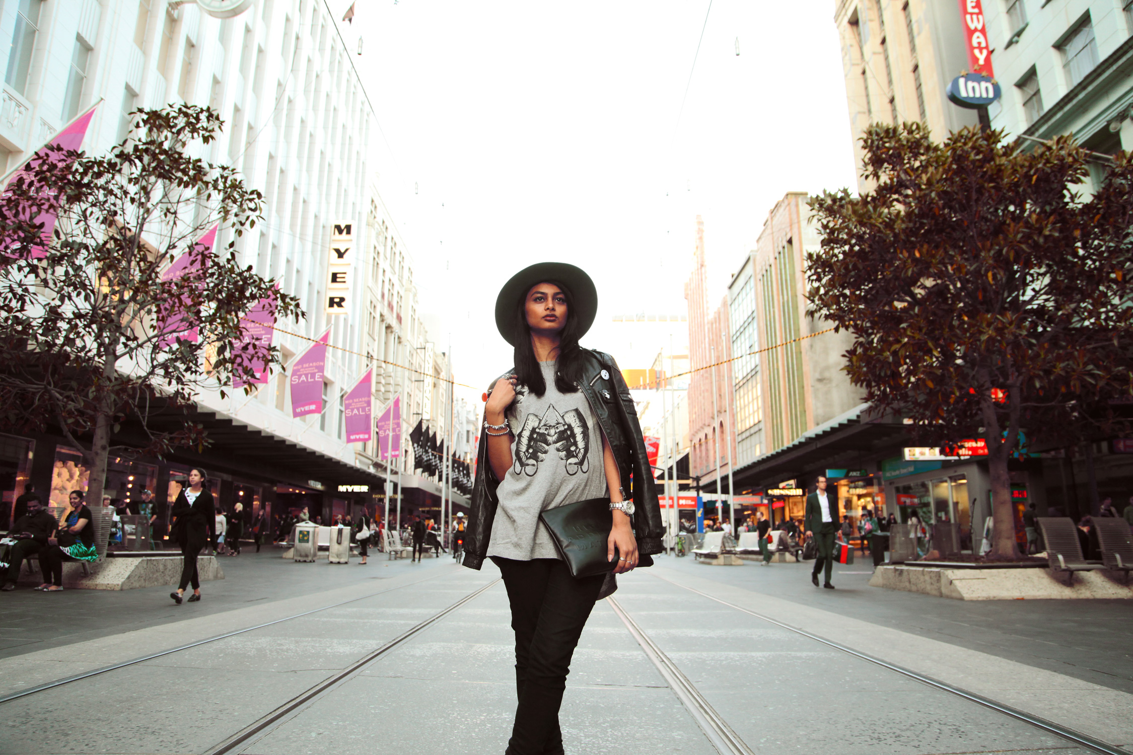 Sophia Chowdhury Melbourne Bourke Street