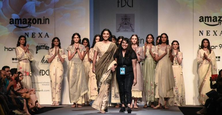 Pramaa by Pratimaa FDCI Amazon India Fashion Week Spring Summer 2018 Featured