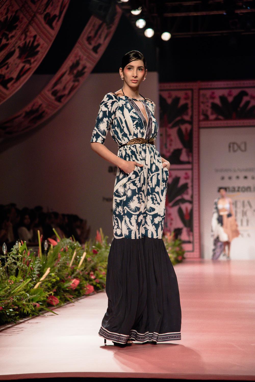 Shivan and Narresh FDCI Amazon India Fashion Week Spring Summer 2018 Look 3