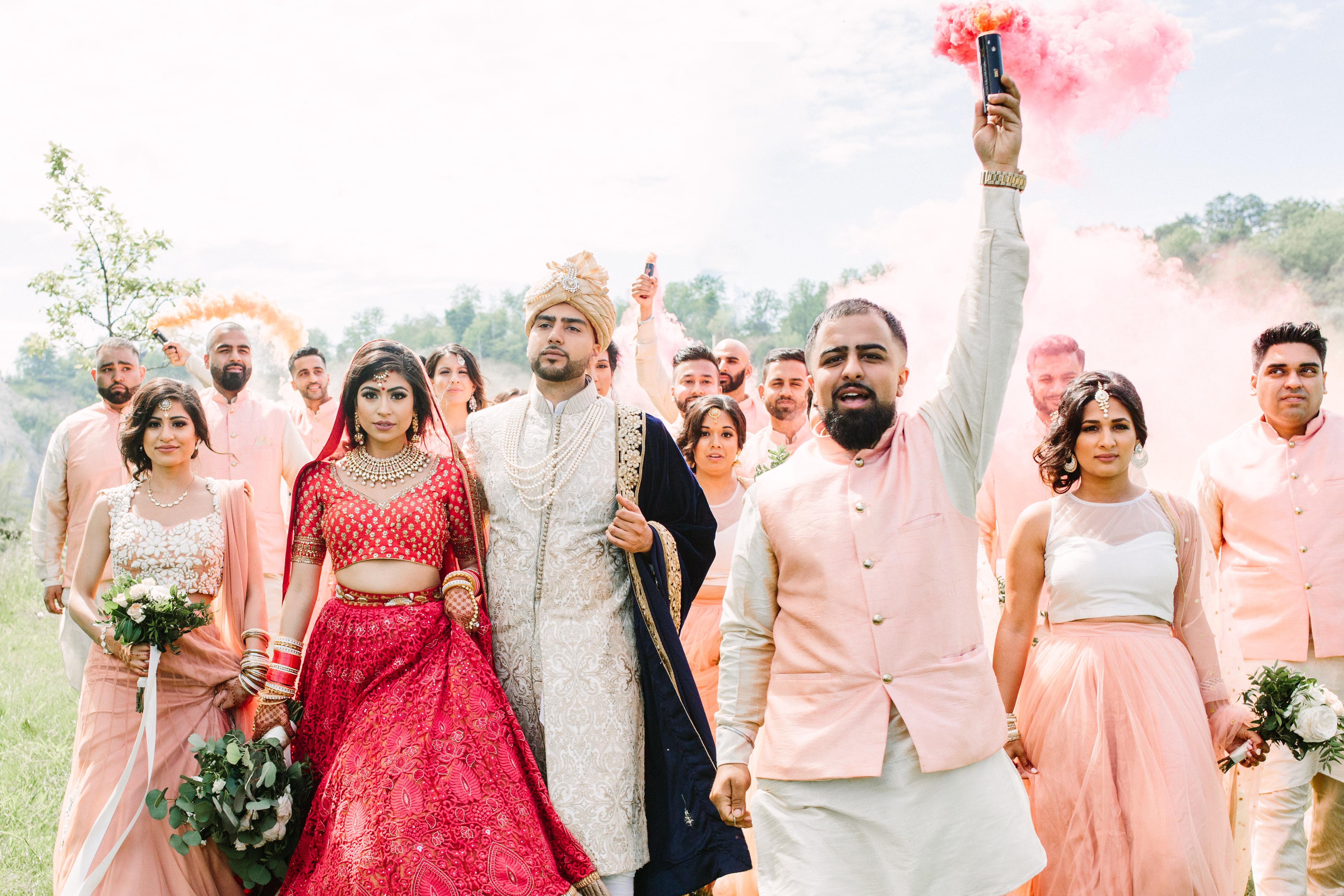 Rima and Tushar's Hindu Punjabi Wedding