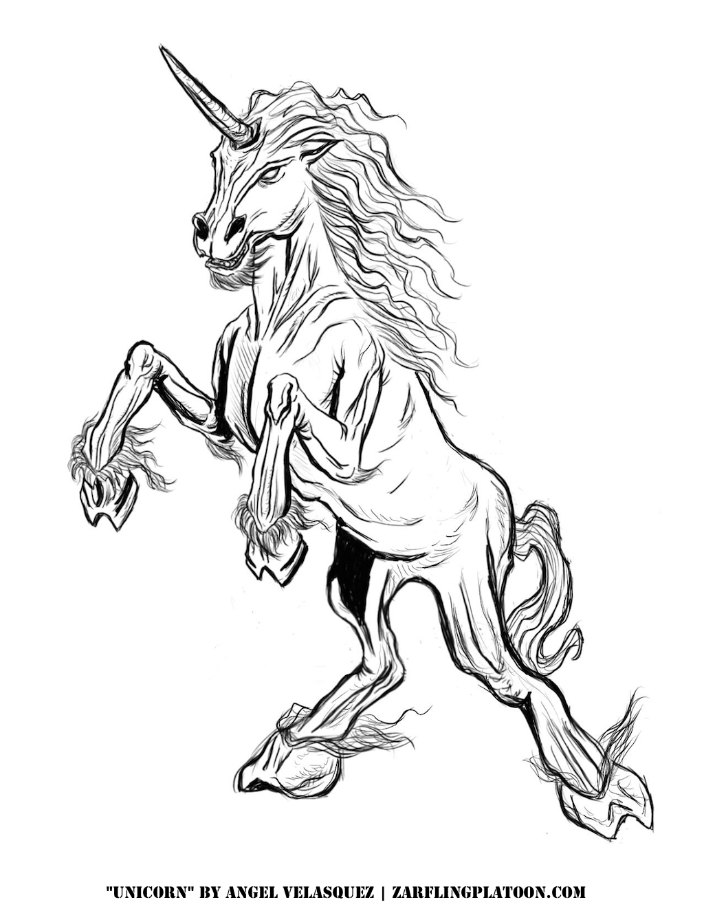 coloring pages buckbeak - photo#19