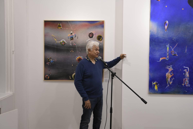 Baraj Khanna Event in Zari Gallery