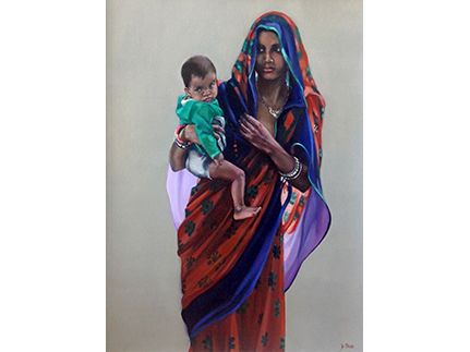 Mother and Child, Palampur