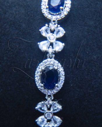 Sapphire Blue CZ Bracelet