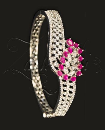 Best CZ Ruby Bracelet
