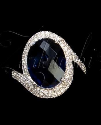 CZ and Stone Ring