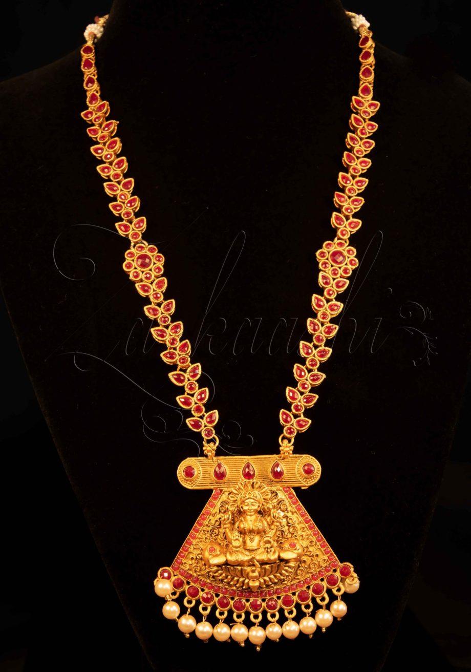 Goddess Laxmi Harem Necklace Set
