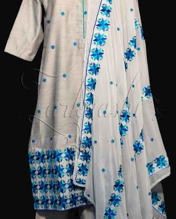 Best Chanderi Silk Suit
