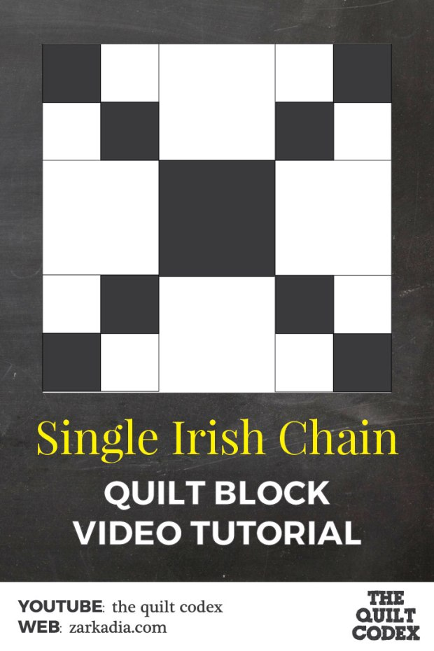 single irish chain quilt